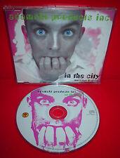 CD ADAMSKI - IN THE CITY - MAXI SINGLE - 8 TRACKS