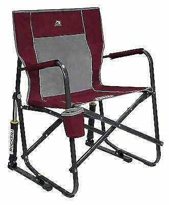 Swell Gci Outdoor 37072 Freestyle Rocker Folding Chair Cinnamon For Sale Online Ebay Machost Co Dining Chair Design Ideas Machostcouk
