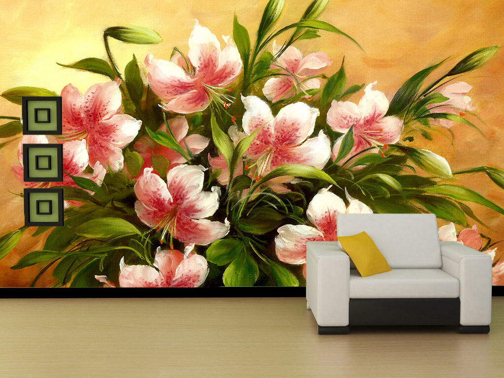 3D Flowers Bouquet 449 Paper Wall Print Wall Decal Wall Deco Indoor Murals