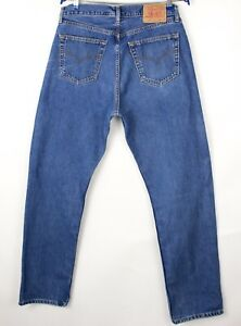 Levi's Strauss & Co Hommes 521 02 Slim Jeans Jambe Droite Taille W36 L34 BDZ685