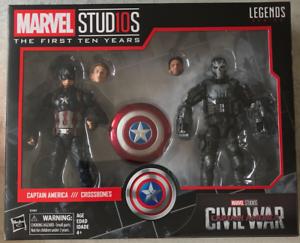 Hasbro Marvel Legends 10th Anniversary Captain America Crossbones UK No Box