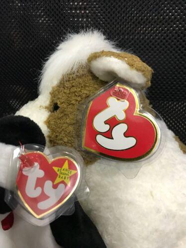 #100 NEW Original BTP Large Heart TY  Plush Tag Protectors.