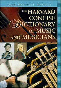 Harvard-Concise-Dictionary-of-Music-Musicians-Book