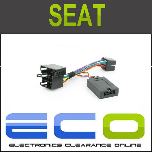 T1-st002-sony Seat Ibiza Toledo Leon Altea /& lt2005 Volante tallo Adaptador