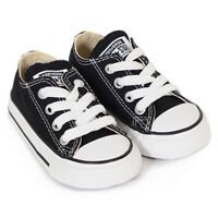 Converse Sneakers Infants Black Lace All Star Classic Sneakers Infants Size 4