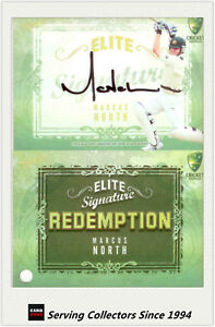 2009-10-Select-Cricket-Trading-Cards-Signature-Redemption-ES6-Marcus-North