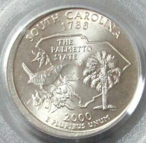 2000 P South Carolina State Quarter • Buy 6 Get 40/% Off • #1228