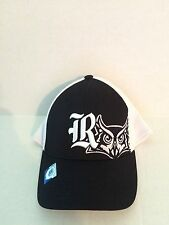Rice Owls Top of the World Trapped Fit Stretch fit hat OSFM Navy