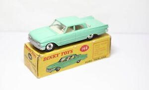 Dinky-148-Ford-Fairlane-En-Su-Caja-Original-Casi-Nuevo-Modelo-Vintage-Original