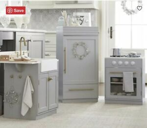 Pottery Barn Kids Chelsea Kitchen Fridge Amp Sink 2 Pc Ebay
