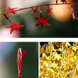 image is loading five star christmas tree decorations strips iron pattern