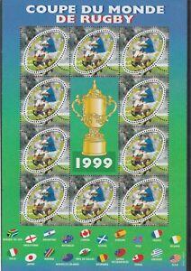 FRANCE-1999-COUPE-DU-MONDE-DE-RUGBY-BF-NEUF-YT-26