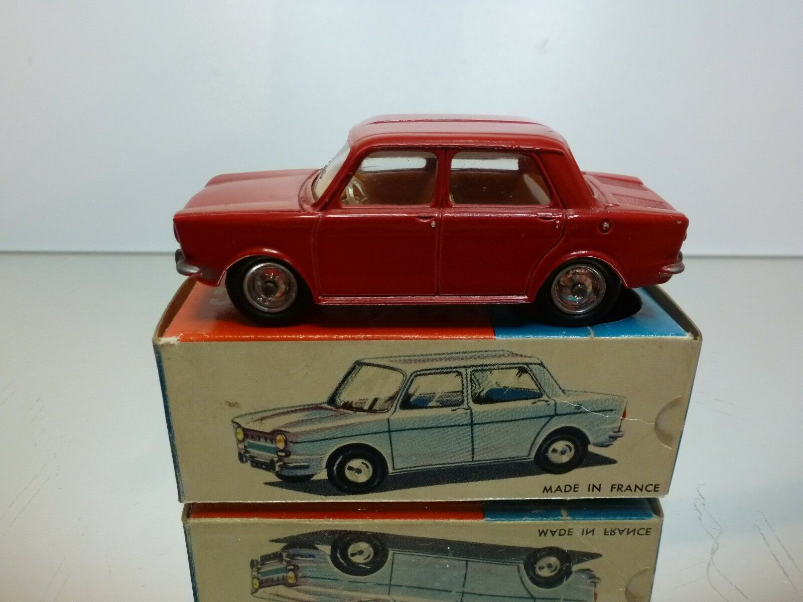 CIJ EUROPARC 3 7 SIMCA 1000 - rosso 1 43 - EXCELLENT IN BOX