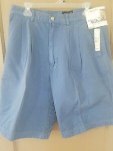 Men-s-Chino-blue-Evergreen-Nordstrom-Golf-Walking-Shorts-35W-NWT