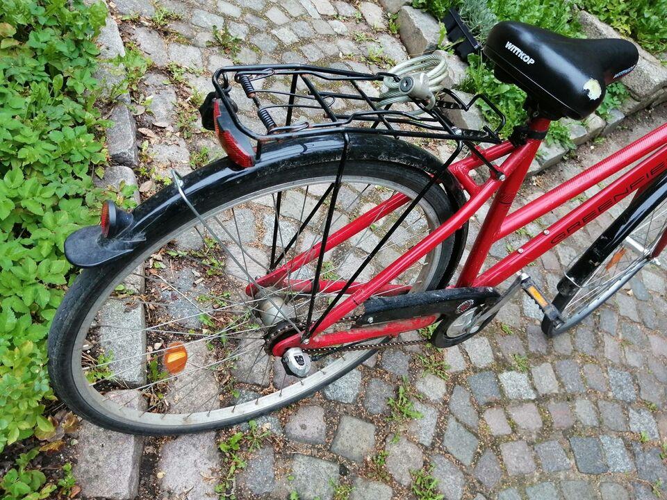 Damecykel, Greenfield, 28 tommer hjul