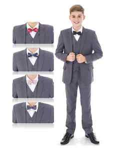Boys Suits, Wedding Suits, Page Boy Suits Prom, Light Grey, Choose ...