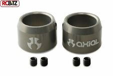 Axial Driveshaft rings w/ setscrews (2) Grey to fit SCX10 & AX10 axles AX30501