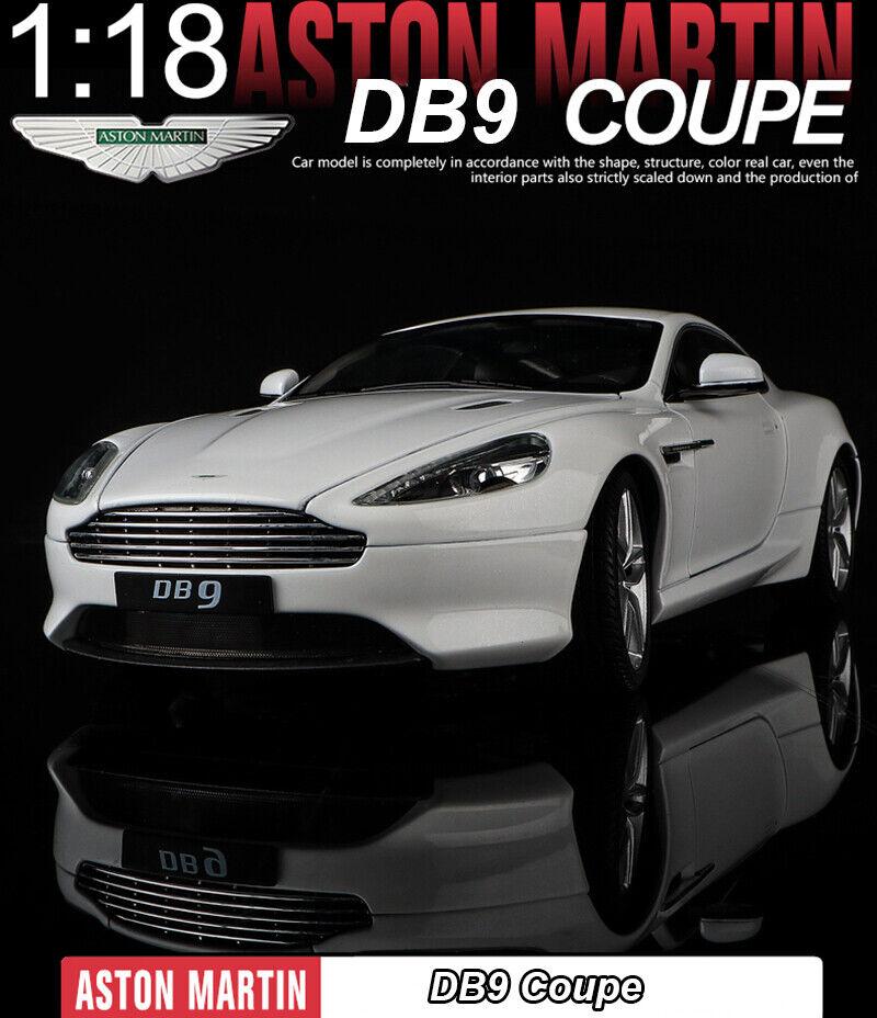 Todo en alta calidad y bajo precio. Welly 1 18 Aston Martin DB9 DB9 DB9 Coupe Diecast Modelo Coches Juguetes De Aleación + Regalo gratis de pequeñas  solo para ti