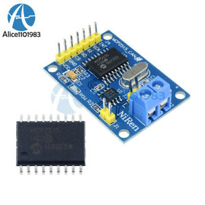 Details about MCP2515 TJA1050 Receiver SPI Module CAN Bus Module 5V For  Arduino Raspberry Pi