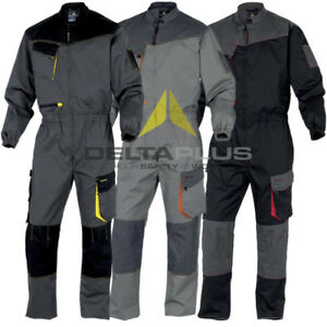 Delta Plus Panoply M6COM Panostyle Kneepad Mens Coveralls Overalls Boilersuit UK