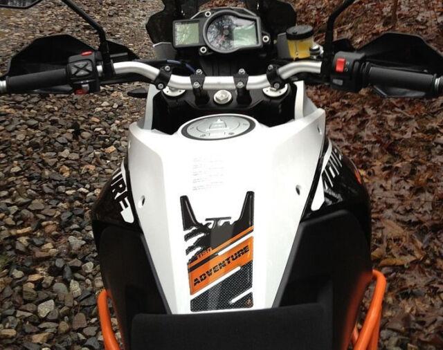 ADESIVO TAPPO SERBATOIO in RESINA GEL 3D compatibile per MOTO KTM 1190 ADVENTURE