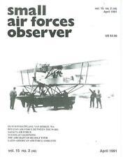 SMALL AIR FORCES OBSERVER V15 N2 DUTCH MLD VAN BERKEL WA_INTER-WAR BELGIUM AF_MI