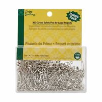 Dritz Quilting Steel Curved Basting Pins Size 1-300 Pkg 072879030327 Craft Supplies