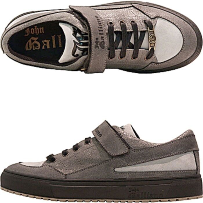 John Galliano sneakers tennis cuir