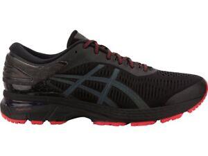 da715fd9b90698 Asics Gel-Kayano 25 Lite-Show Black Reflective Men Running Shoes ...