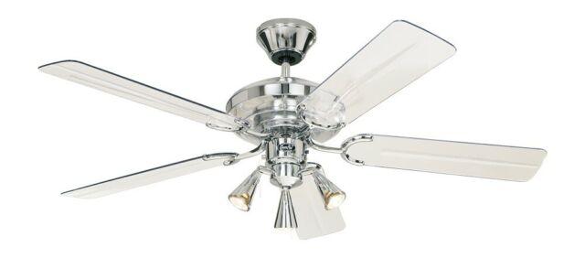 Continuum Acrylic Ceiling Fan Modern