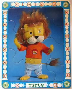 Puzzles-ORTF-034-Titus-le-petit-lion-034-et-034-Melchior-034-Cavahel-Vintage