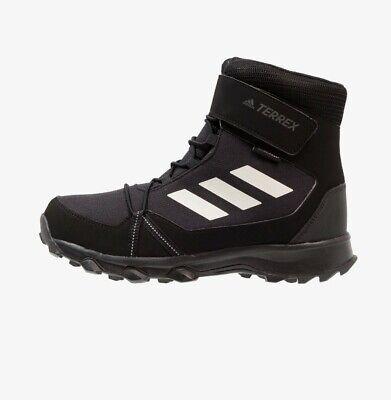 DSS * Adidas Terrex NIEVE CF De Invierno Botas Senderismo Zapatos Invierno Niños Reino Unido 13.5 | eBay