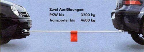 Sicher-2matic  Hans Herrmann 1 x 3,2 t Abschleppstange Nr 1 x   4,6 t