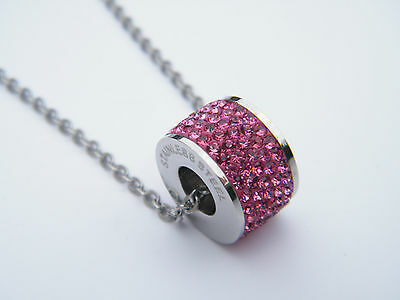 WOMENS LADIES PENDANT NECKLACE SWAROVSKI CRYSTAL JEWELLERY NECKLACE