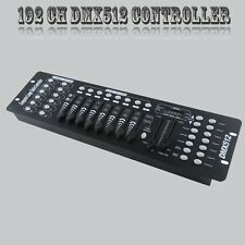 192 Channels DMX512 Controller Console For Stage Light Party DJ Laser Operator
