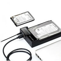 "2.5/3.5"" USB 3.0 Gehäuse externe Festplatte HDD SSD SATA PC Computer Notebook"