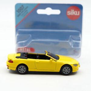 Siku-1007-BMW-645i-Cabrio-Convertible-Cabriolet-Toys-Car-Mddel-Diecast-Vehicles