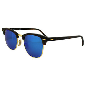 0fd20c9fe3 Image is loading Ray-Ban-Sunglasses-Clubmaster-3016-114517-Matt-Tortoise-