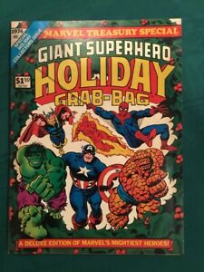 Giant-Superhero-Grab-Bag-1974-Treasury-Fine-Very-Fine-7-0