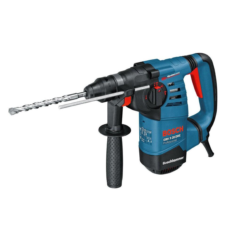 BOSCH Blau Professional Bohrhammer GBH 3-28 DRE mit SDS-plus Schlagbohrhammer