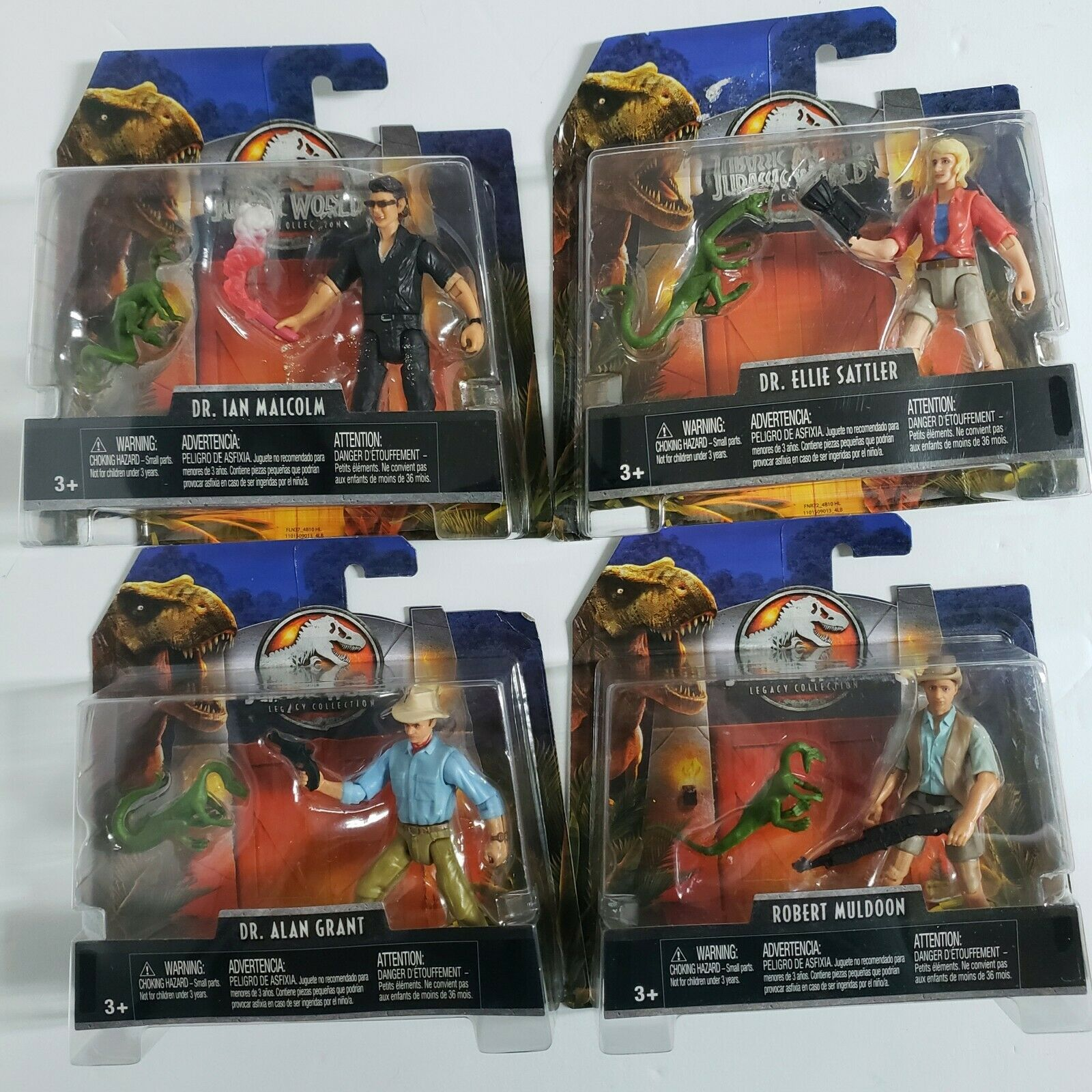 Jurassic World Legacy Collection Full Set Moc