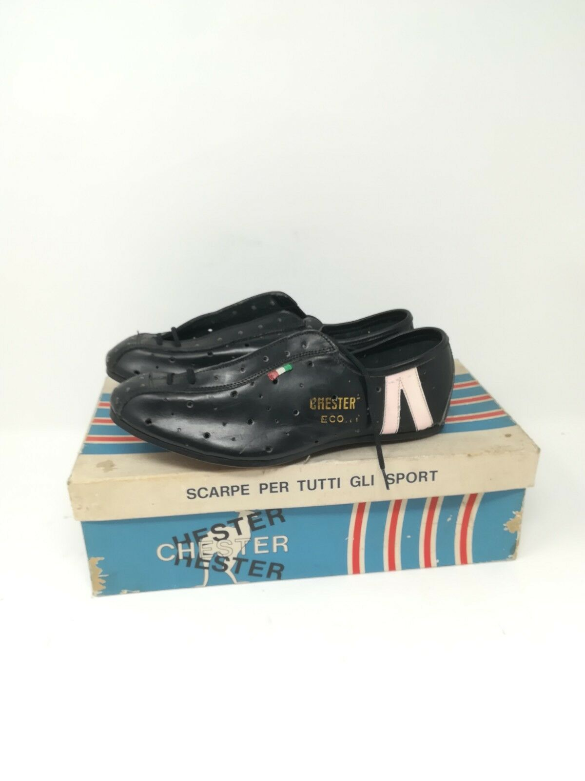Vintage shoes ciclismo cycling shoes   39 NOS  Chester Eco