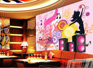 3D Speaker Music Paper Wall Print Wall Decal Wall Deco Indoor Murals