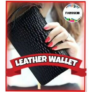 LEATHER-WALLET-LEATHER-COIN-PURSE-WOMEN-PURSE-COIN-WALLET-COIN-PURSE-COIN-CROCOD