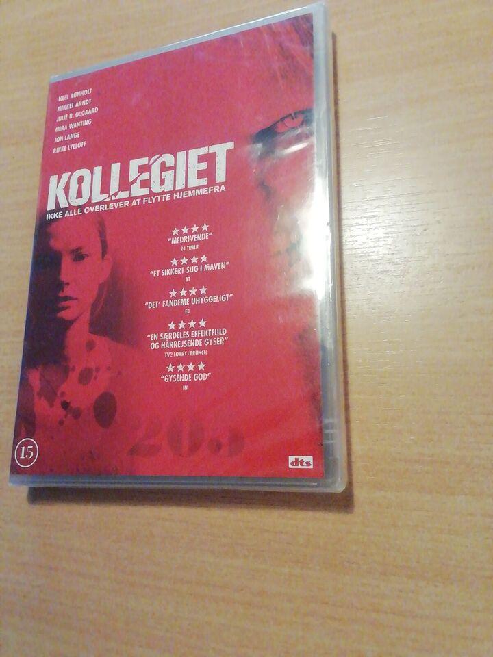 Kollegiet, DVD, gyser