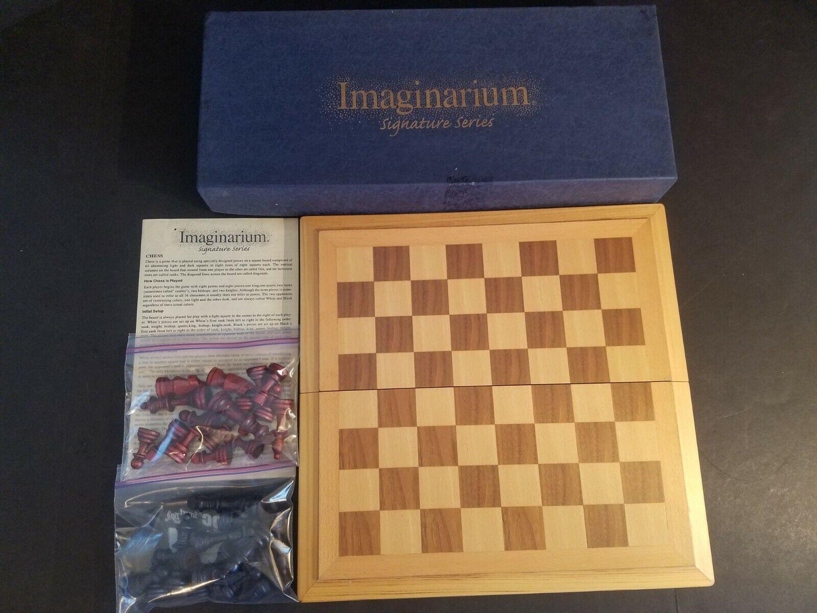 Imaginarium Signature Series Chess Set Wood