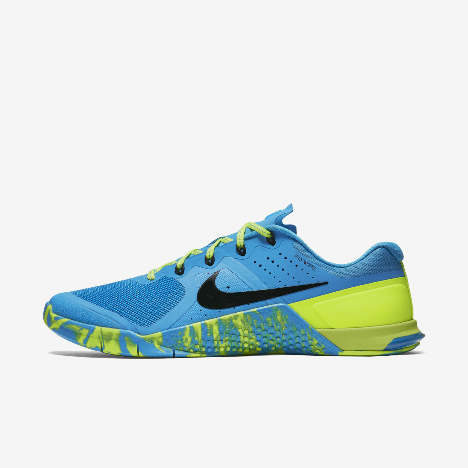 Nike Nike Nike Womens Metcon 2 Amp Trainer shoes Sneakers bluee Glow Volt Black 843972 400 702f25