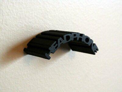 Black Gaming - DJ Headphones Headset Wall Mount Holder Stand