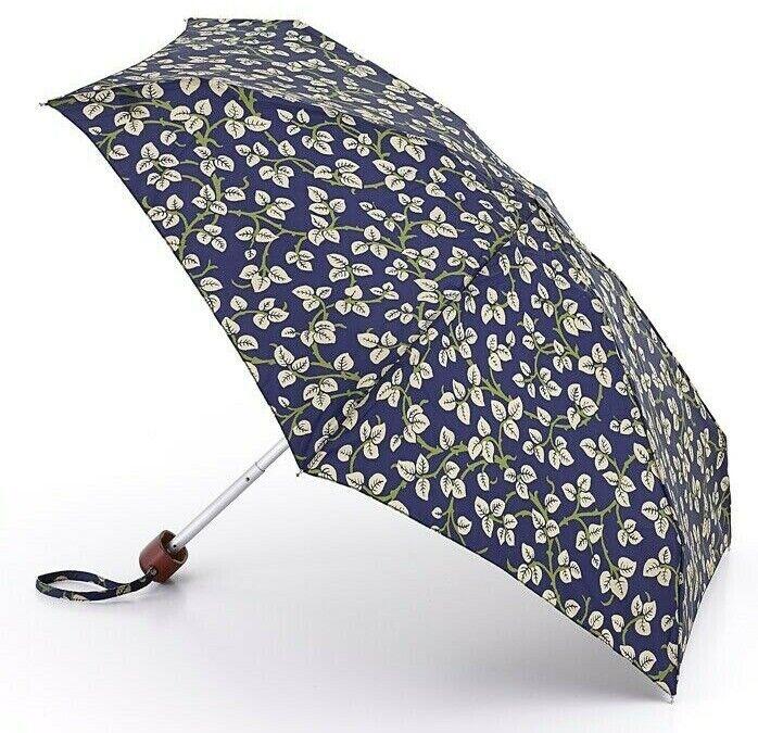 Morris & Co (Fulton) Tiny-2 Umbrella - Merton Leaf - Brand New - Free Postage