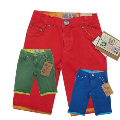 Blue Effect Pantaloni Pantaloni Corti Bermuda Colour-Jeans ragazzo Bambini Mis 116,128,152
